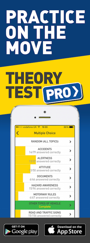 Theory Test Pro in partnership with CITY Drive School